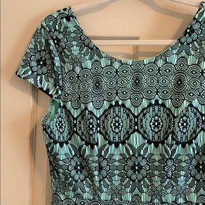 Short, cap sleeve dress